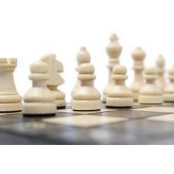 チェスジャパン 木製チェスセット オールドスクール 15