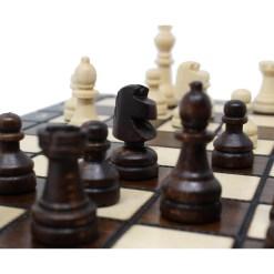 チェスジャパン 木製チェスセット オールドスクール 20