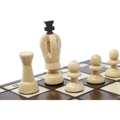 木製チェスセット ロード 31cm 17