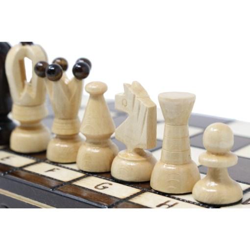 木製チェスセット ロード 31cm 21
