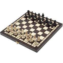 木製チェスセット オリンピアード 35cm クラシックA 1