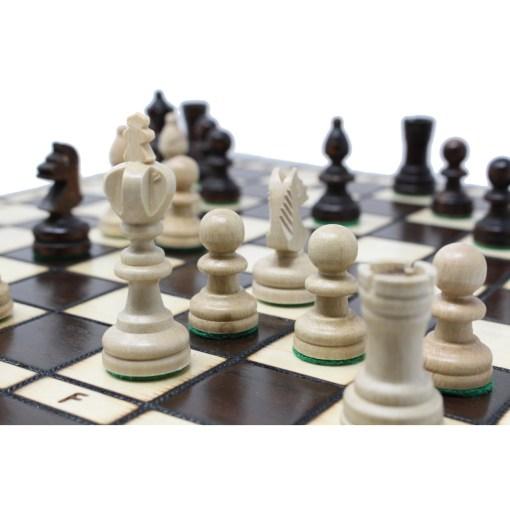 木製チェスセット オリンピアード 35cm クラシックA 14