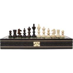 木製チェスセット オリンピアード 35cm クラシックA 20