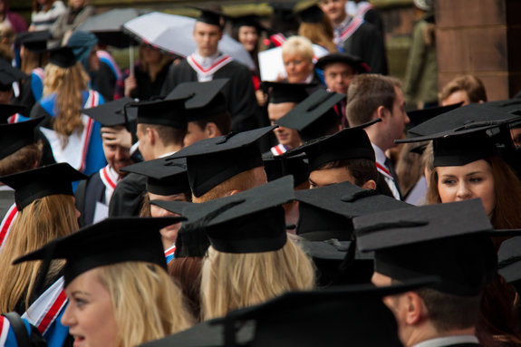 Celebrating the success of University's newest graduates ...