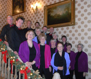 Pre-dinner carols for Grosvenor Hotel events