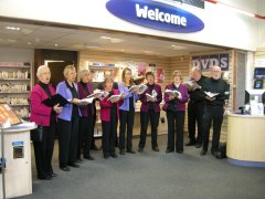 Carols at Chester Library