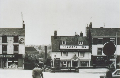 Peacock Inn Chesterfield Photograph Christine Merrick 1971