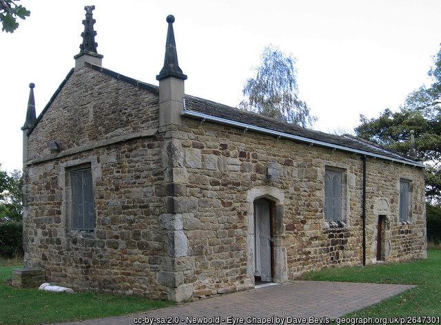 Eyre Chapel Newbold Chesterfield