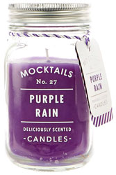 Mocktail Scented Candle - Purple Rain