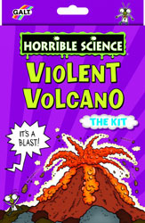Galt Horrible Science Violent Volcano Craft Kit