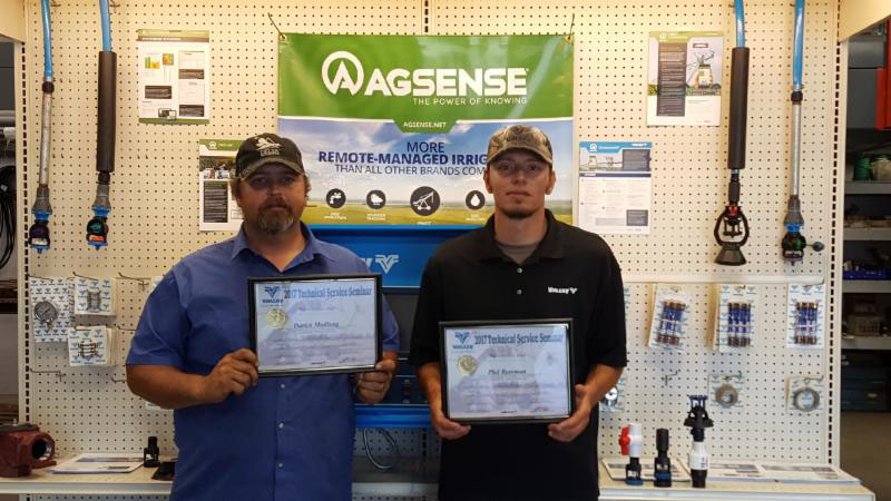 CHESTER AG SYSTEMS SERVICE TECHNICIANS FINISH IN TOP 10% OF NATION!