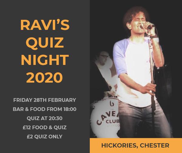Ravi's Quiz Night 2020