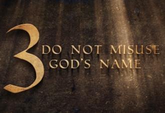 The Ten Commandments: Using God's Name Worthily – Samuel Burger – June 18, 2017