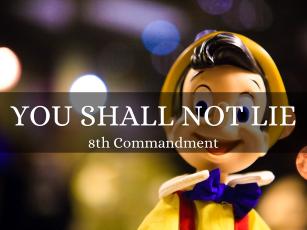 10 Commandments: Don't Lie – Samuel Burger – August 6, 2017
