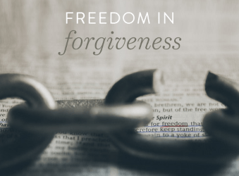 Forgiveness – Samuel Burger – April 14, 2019