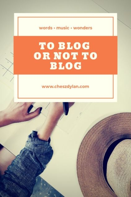 To blog or not to blog - What is the latest this 2020?