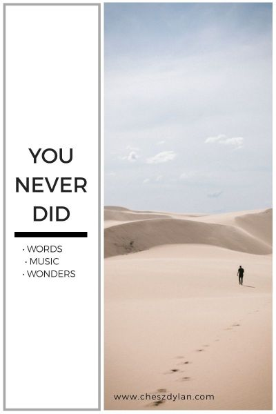 You Never Did by Ron De Leon