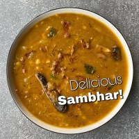 Sambhar – South Indian Lentils