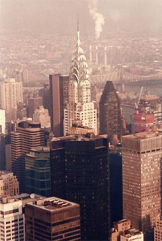 El edificio Chrysler, Nueva York