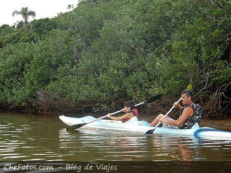 Kayak en Manglar de Garopaba - Brasil
