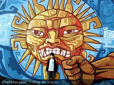 Murales en Caminito - La Boca
