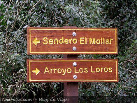 Senderos Parque Nacional El Palmar