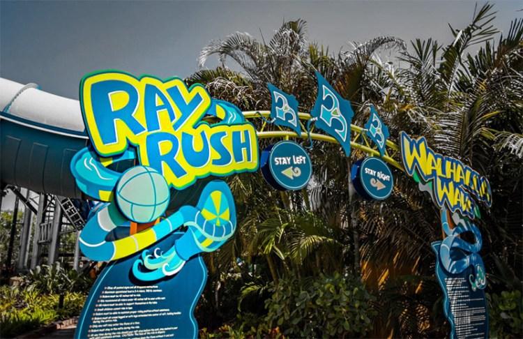 Ray Rush Aquatica - Orlando