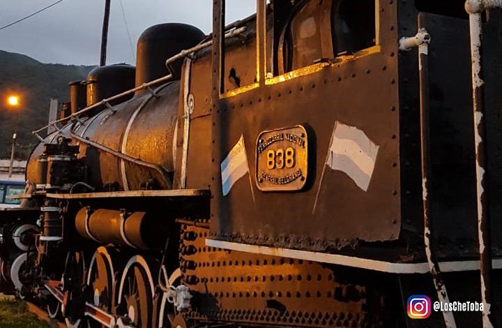 Antiguo tren de las nubes