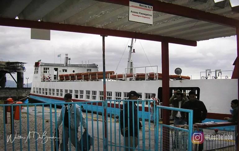 Barca SA Angra dos Reis para Ilha Grande