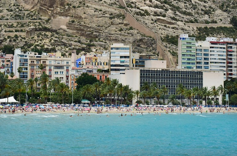 Playa Pistiguet Alicante