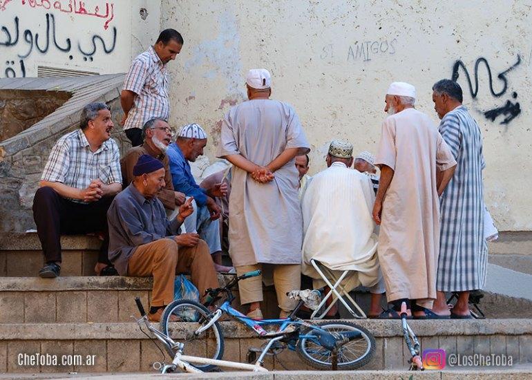 Fotografía de viajes - Gente en la Medina de Fez