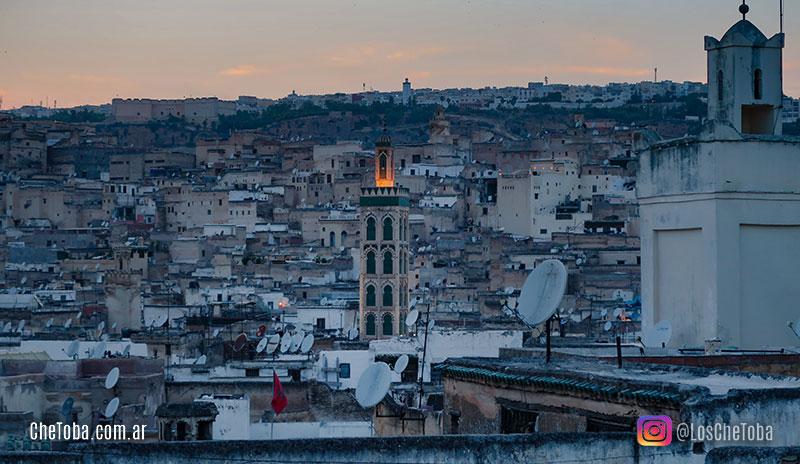 Ciudad de Fez o fes en Marruecos