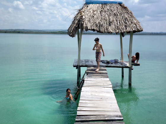 Foto lago Petén Guatemala