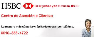 0800 / 0810HSBC Atención al Cliente