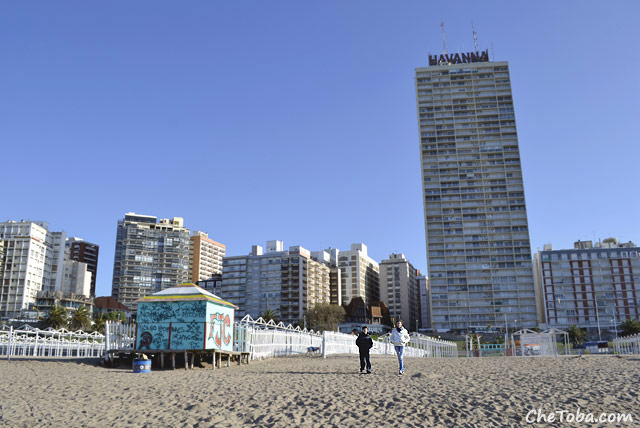 Playa de Mar del Plata - Edificio Havanna