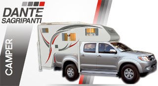 Fábrica Camper Pickup Cabina Doble