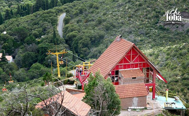 Cerro los Cocos, Aerosilla