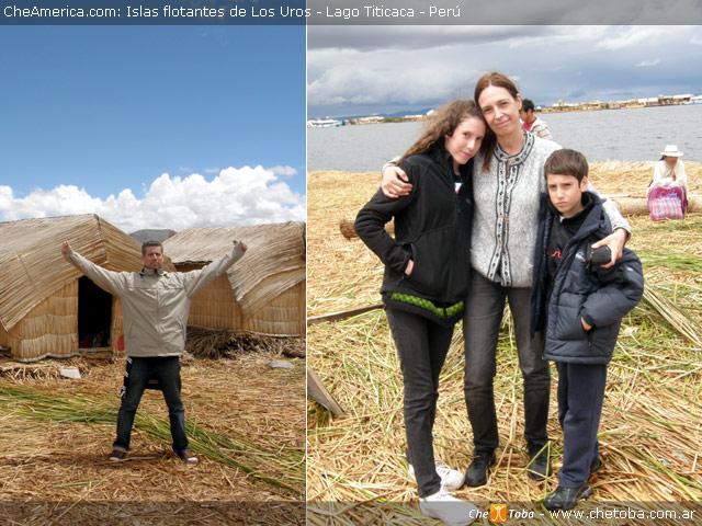 Los Chetoba en el Titicaca