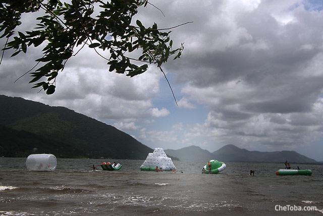 Juegos de Agua en Laguna Florianópolis