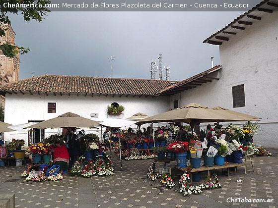 Mercado de Flores Cuenca