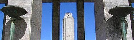 Fotos e información del Monumento a la Bandera