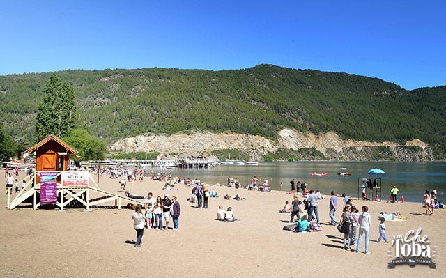 Playa San Martín de los Andes
