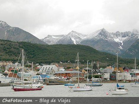 Veleros en la Bahía de Ushuaia