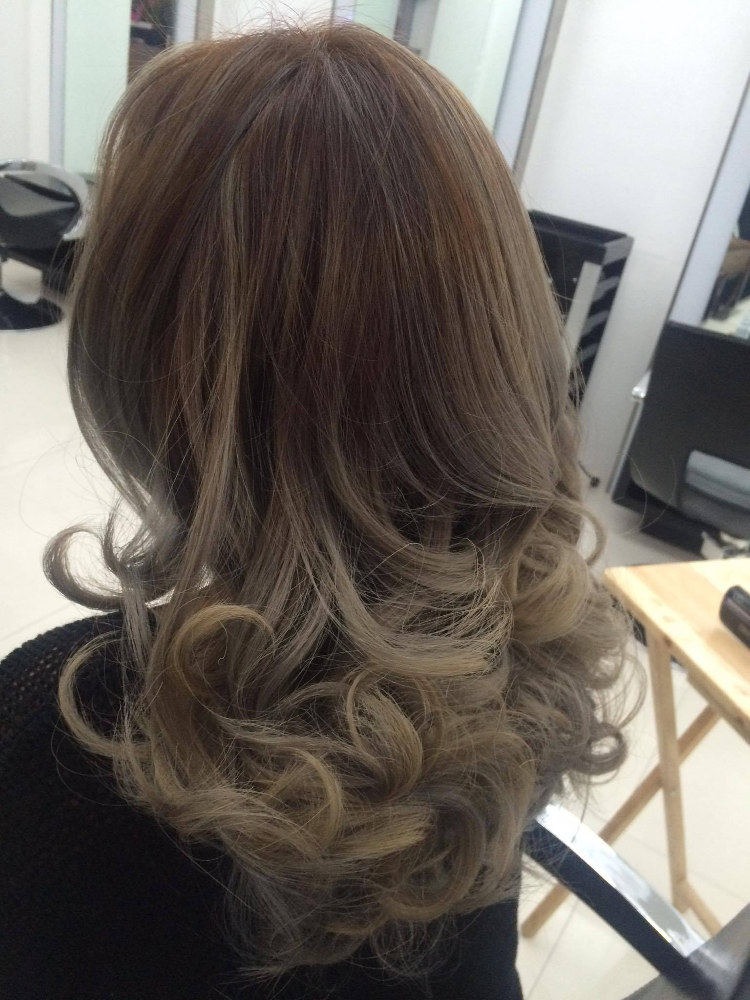 Balayage Hair Color At Dot Zero Salon