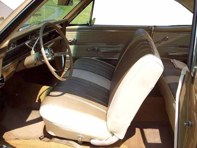 1966 Chevelle Bench Seat Interior Photos