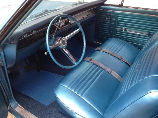 1967 Chevelle Bench Seat Interior Photos
