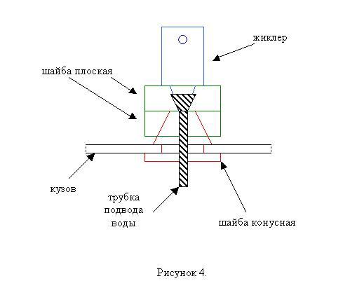 Модернизация омывателя стекла