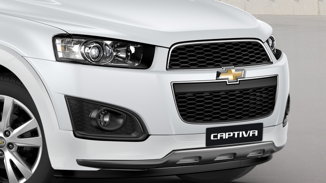 Chevrolet Captiva New Fascia
