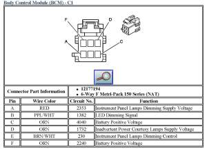 Chevrolet Transmission Control Module Location 03