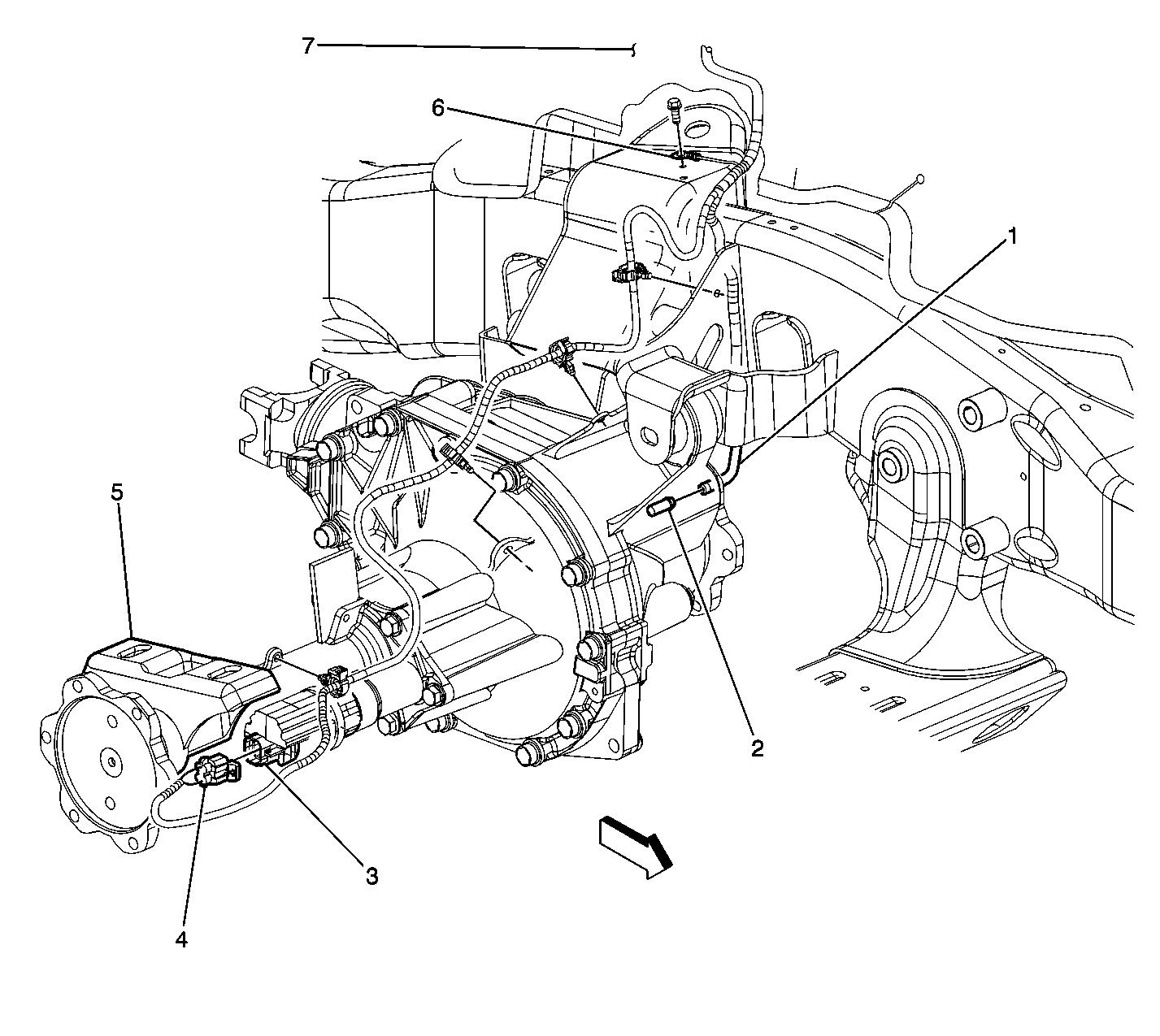 Chevy Tahoe Rear Axle Diagram